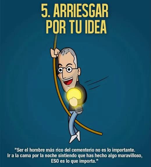 arriesgar por tu idea