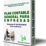 Plan contable general empresarial – Descargar en Excel