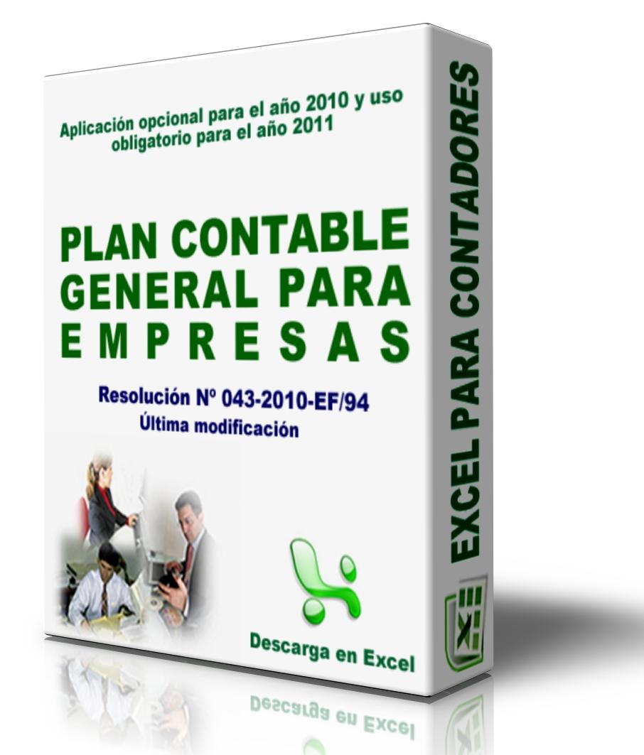 plan cuentas empresarial onex