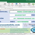 APLICATIVO: REGISTRO DE COMPRAS ELECTRÓNICO – GRATUITO – (PERÚ CONTABLE)