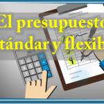 El presupuesto estándar y flexible