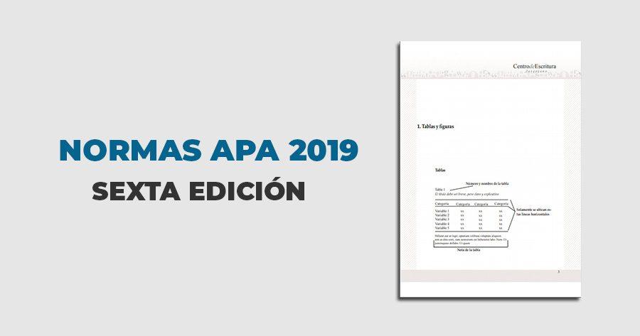 Descargas Contables Normas Apa 2019 Sexta Edición