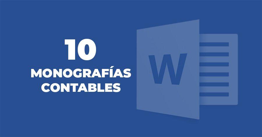 10 monografias contables