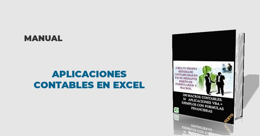 manual aplicaciones contables excel