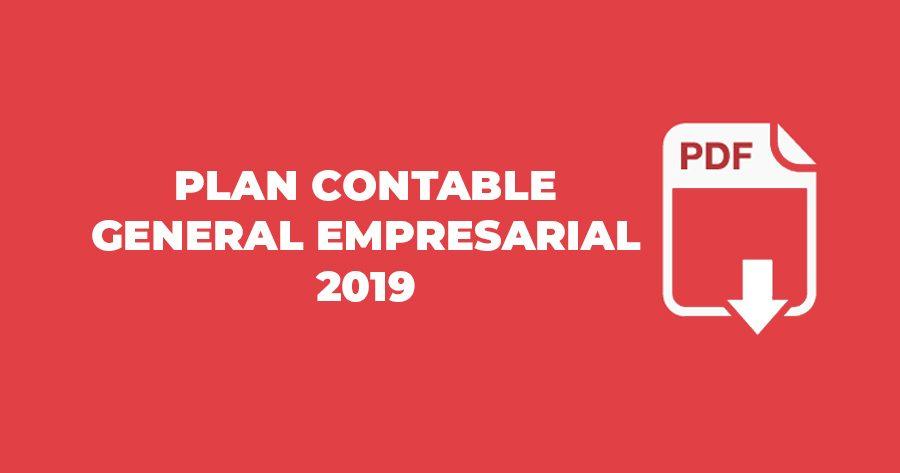 plan contable general empresarial 2019