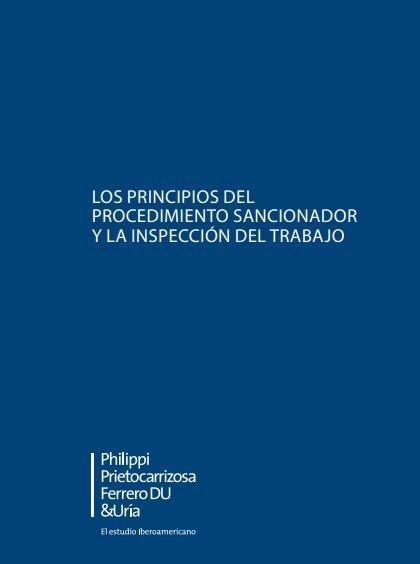 principios procedimiento sancionador inspeccion trabajo