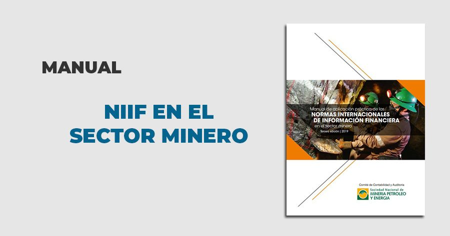 manual niif sector minero