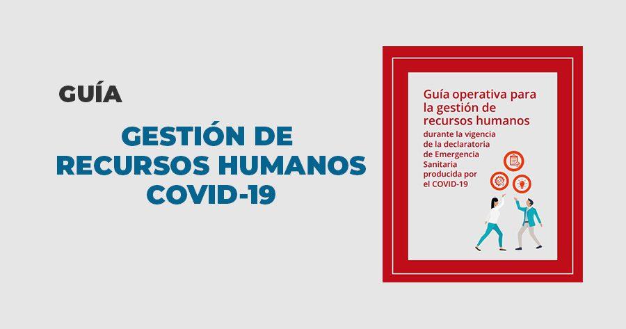 guia gestion recursos humanos covid19