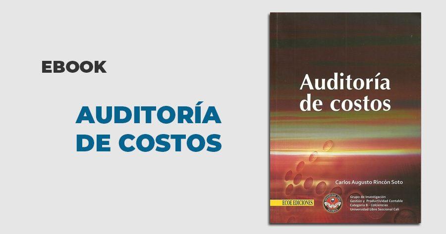 ebook auditoria costos