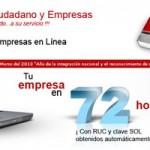 Constituye tu empresa vía internet