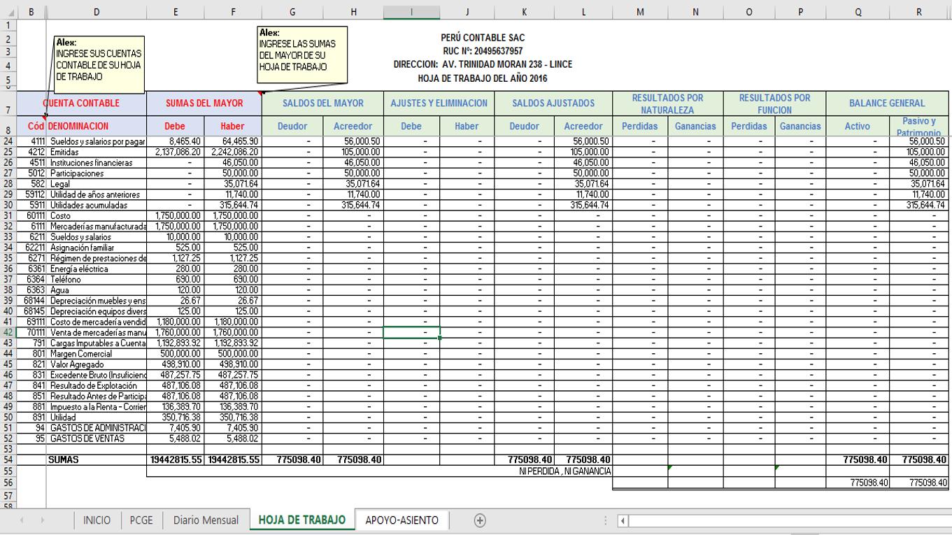Estado de flujo de efectivo en excel – Excel Contable