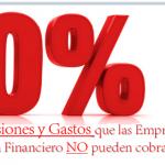 Conoce aquellas Comisiones y Gastos que las Empresas del Sistema Financiero NO pueden cobrarte