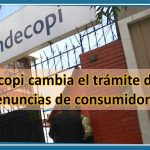 Indecopi cambia el trámite de las denuncias de consumidores